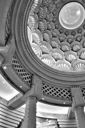 Atlantis Ceiling in Black and White - ID: 720981 © Mary B McGrath