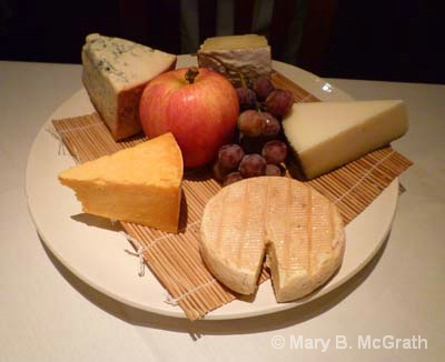 Cheese Plate at Ford's Filling Station - ID: 10756238 © Mary B McGrath